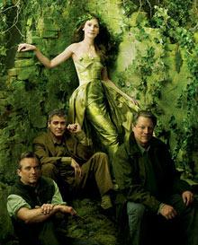 Robert F. Kennedy Jr., Al Gore, Julia Roberts, et George Clooney by Annie Leibovitz