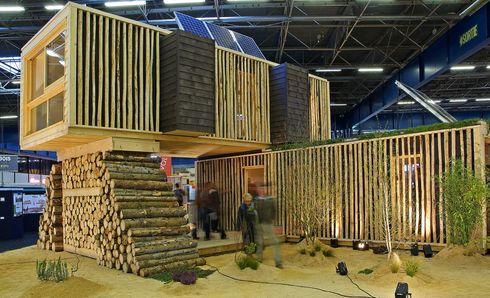 Maison evolutiv le modulaire passif ecolopop for Architecture modulaire