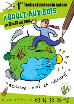 Festival Du Dessin Nature A Boult Aux Bois Ecolopop