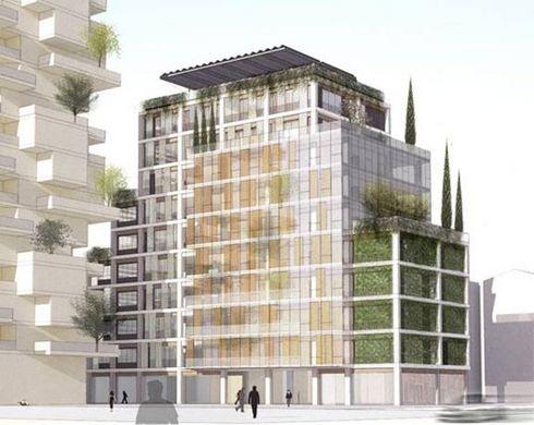 Isola immeuble cologique milan ecolopop - Immeuble ecologique ...