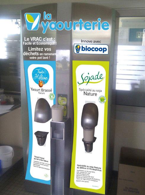 Réduction des emballages : le yaourt en vrac arrive