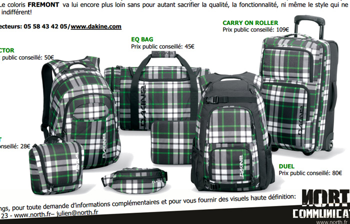 d880cd15c4c42 Collection de sacs recyclés DAKINE