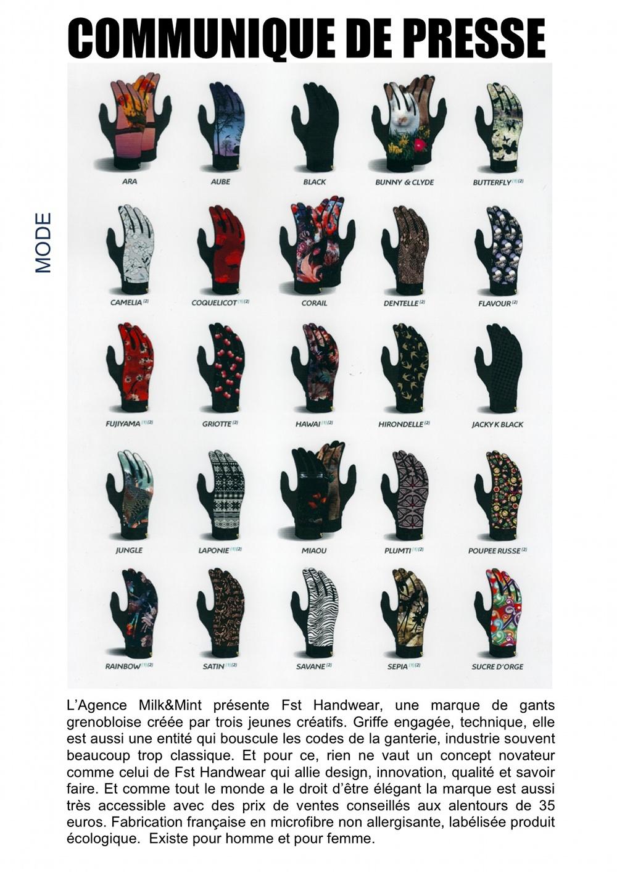 Fst Handwear : gants écolos made in france