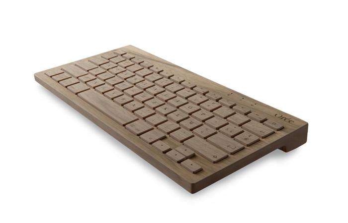 Orée : Un clavier sans fil en bois massif