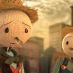 """Capture d'écran du court métrage """"l'épouvantail"""" pour Chipotle. http://www.scarecrowgame.com/film.html"""