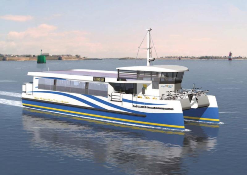 Ar Vag Tredan / Lorient : premier bateau à passagers au monde à zéro émission de CO2