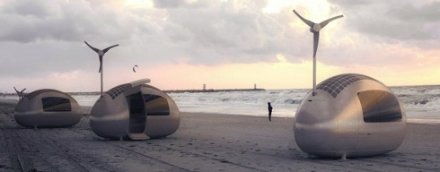 ecocapsule caravane roulotte du futur ecolopop. Black Bedroom Furniture Sets. Home Design Ideas