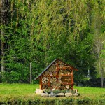 Hôtel à insectes - camping Pyrénées Natura