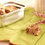 recette : Barres fondantes à l'avoine et à la banane