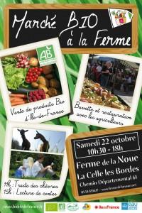 Automne BIO 2011 : Marché BIO à la ferme de la Noue (78)