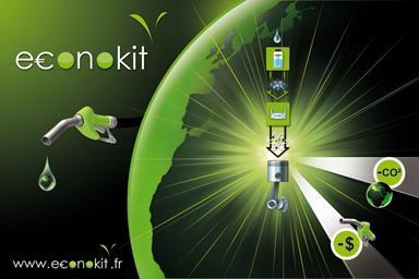 Econokit : réduction de la pollution automobile grâce à l'eau de pluie