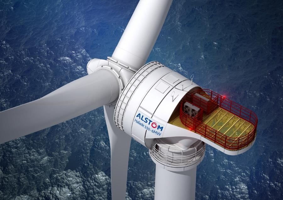 Implantation d'un pôle industriel d'éoliennes offshore à Cherbourg et St Nazaire