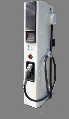 Voiture électrique : chargeur rapide Nissan