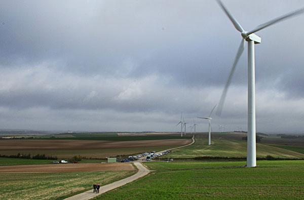 Electricité : La production éolienne prend le relais des centrales classiques