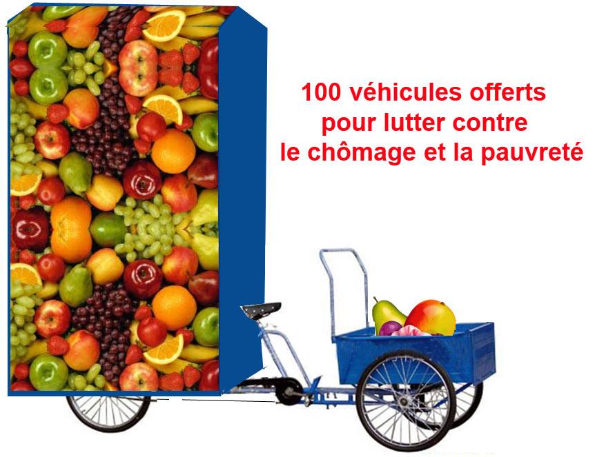 100 véhicules offerts aux bénéficiaires du RSA  pour créer leur emploi