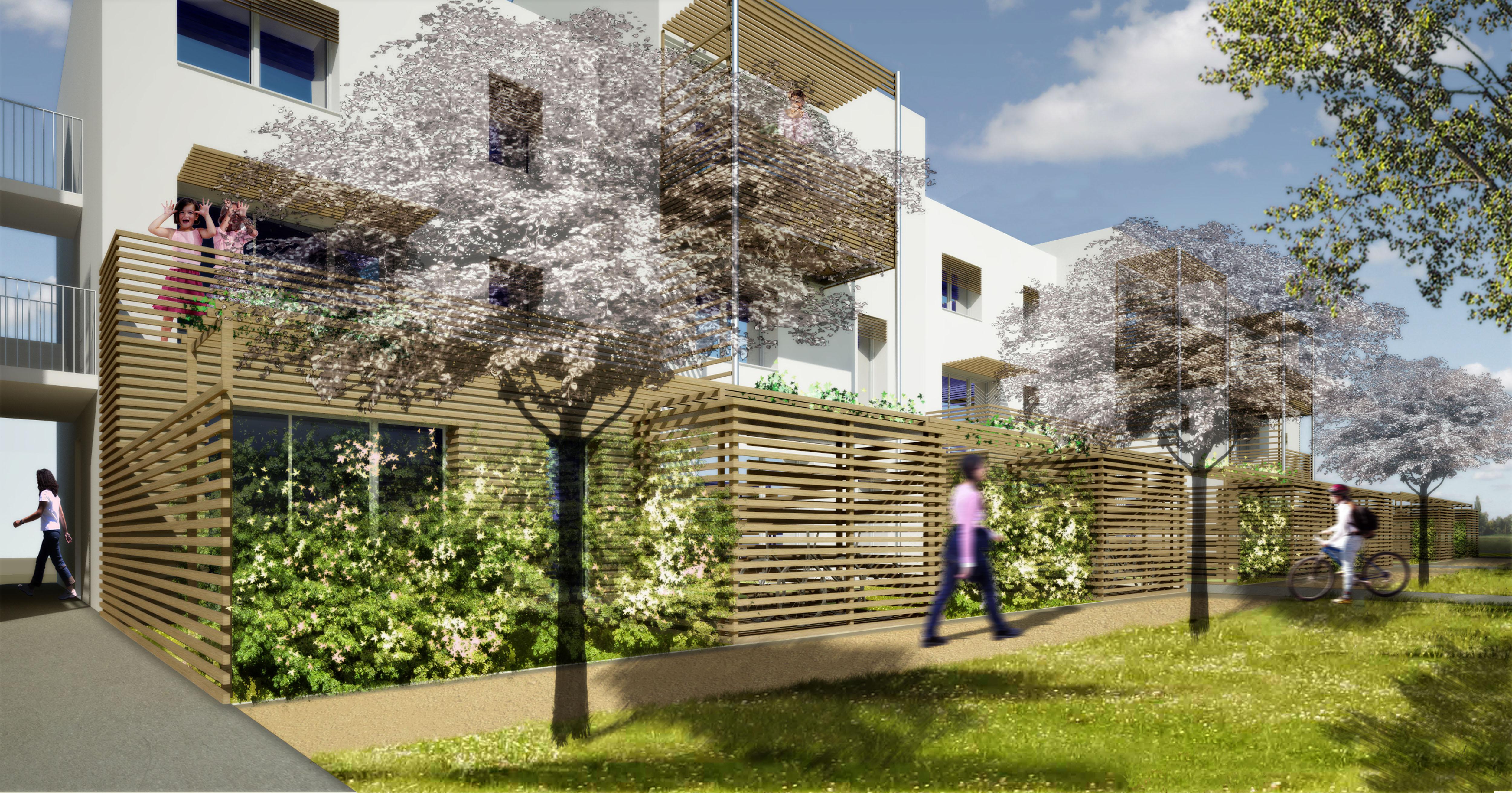 Cezabat (Auvergne) : projet d'ecoquartier 900 logements !