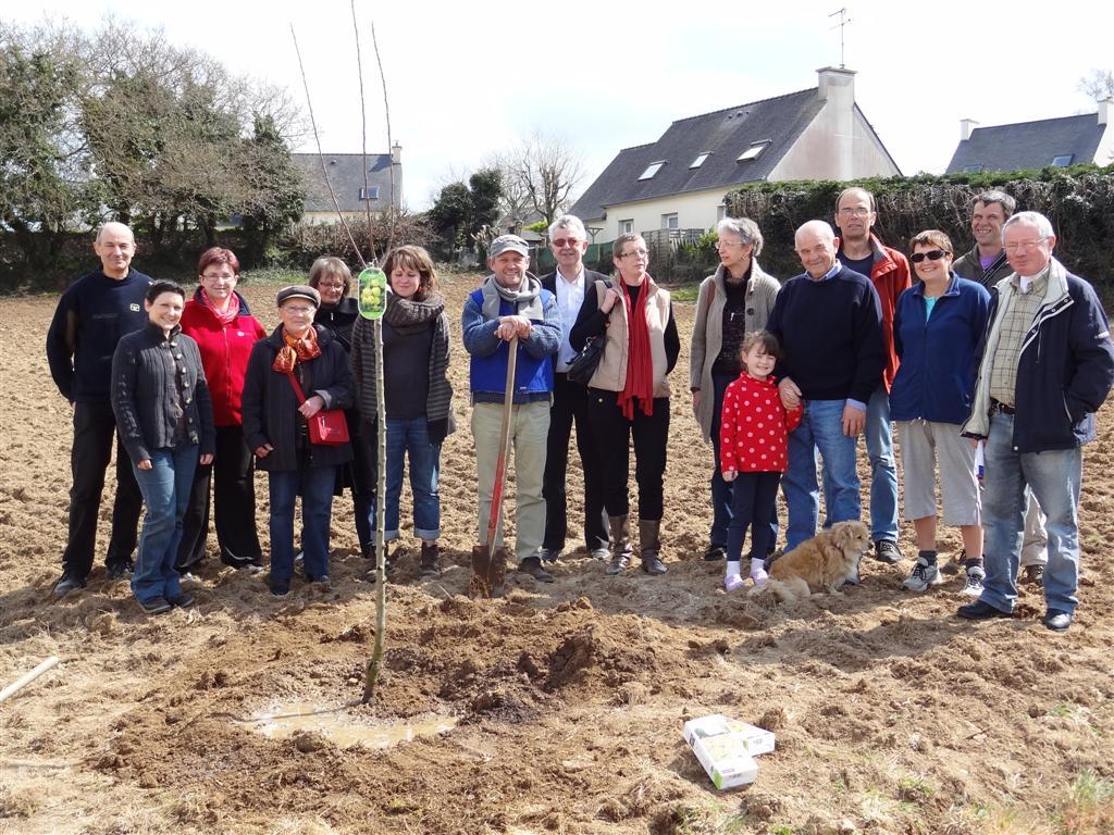Solidarité à proximité d'un poste électrique : Ouverture d'un nouvea jardin collectif s'ouvre à Brest