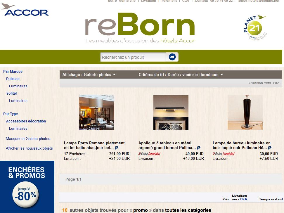 Recyclage de meubles :  projet Reborn