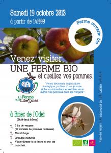 Briec / 29 : Portes ouvertes La Ferme aux libellules