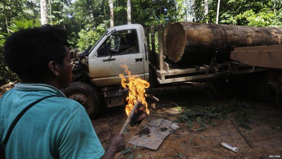 Amazonie : la tribu s'attaque à la déforestation
