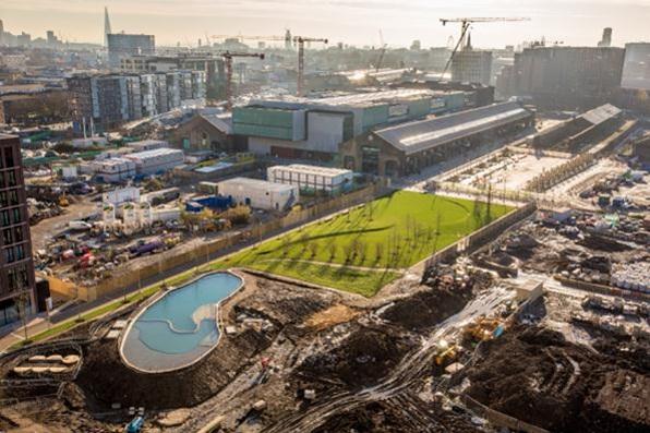 Londres  : une piscine sans chlore !