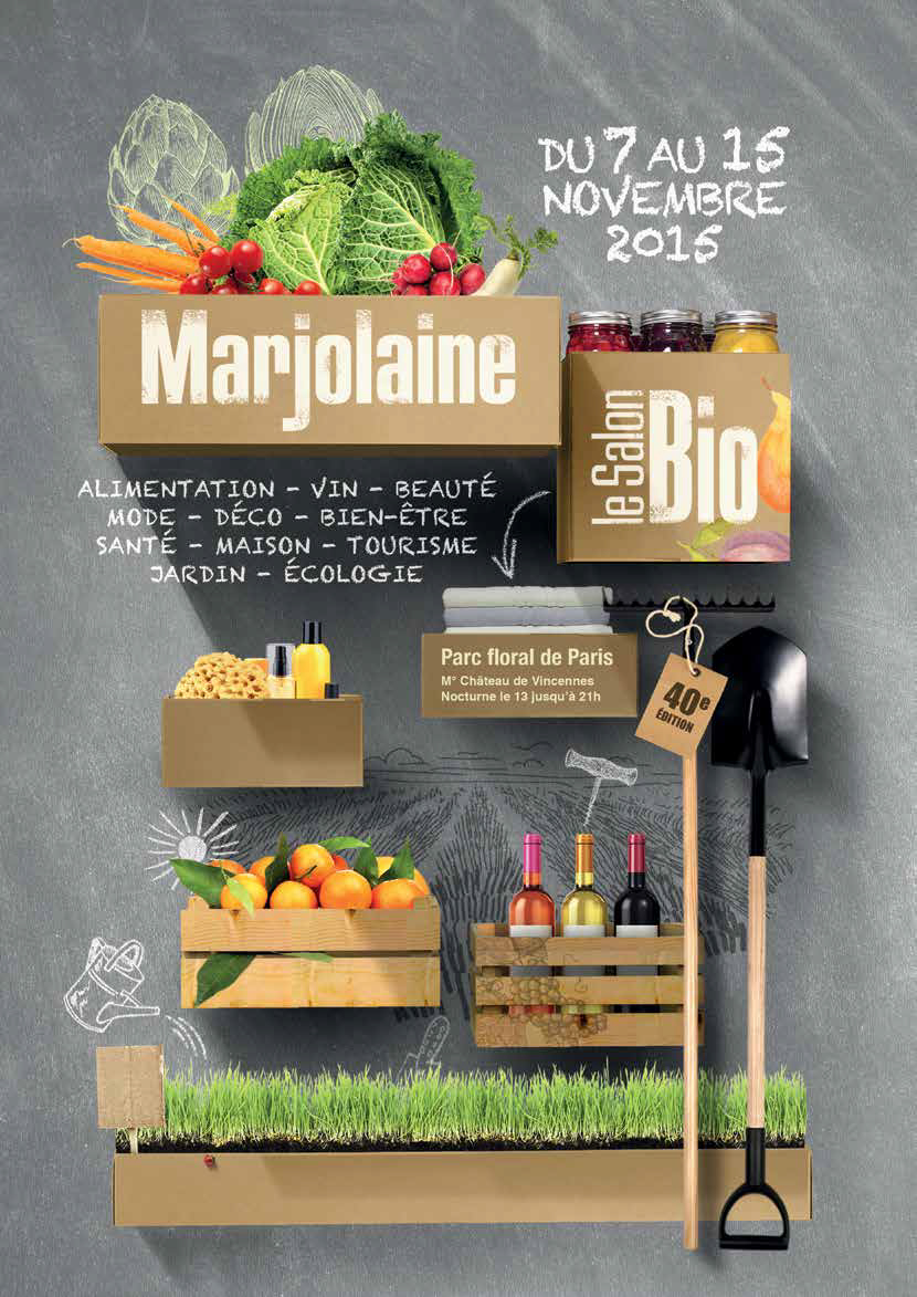 Marjolaine 2015, le salon bio dans l'air du temps