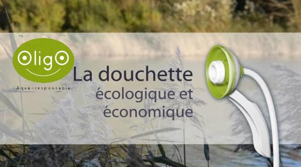 Oligo, la douchette économique et écologique.