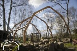 Construire une serre en bois à moindre cout : découvrez le modèle HANTER DOME LOKORN 12m2 extensible