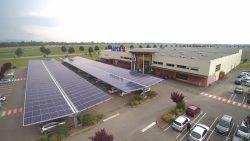 Première: Une centrale photovoltaïque en autoconsommation dansle Haut-Rhin