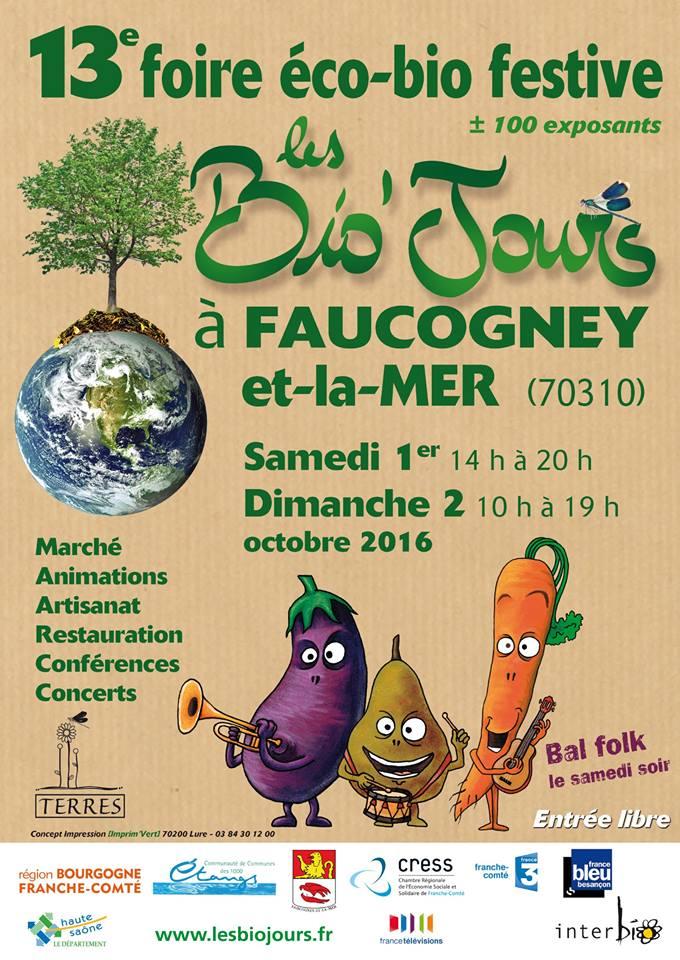 Faucogney-et-la-Mer : 13e foire éco bio festive