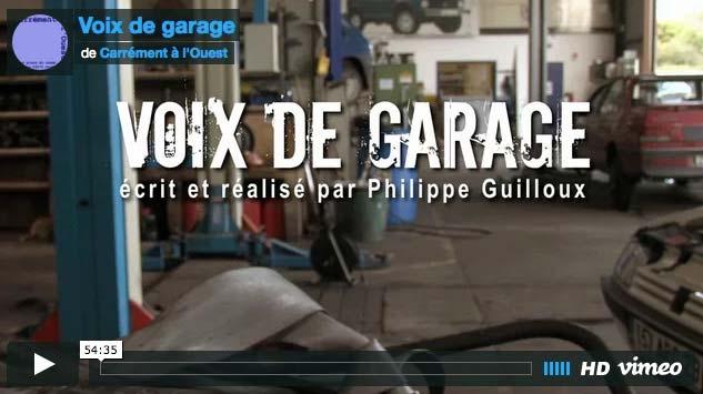 Carhaix : Philippe Guilloux, Voix de garage – Solidaire