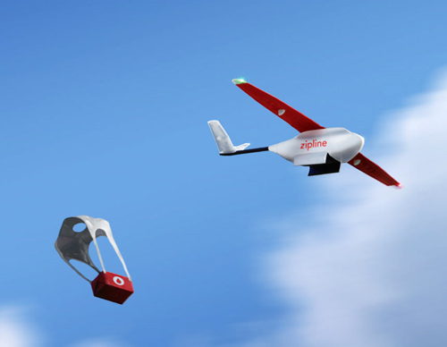 Rwanda : les drones pharmaciens livreurs de sang