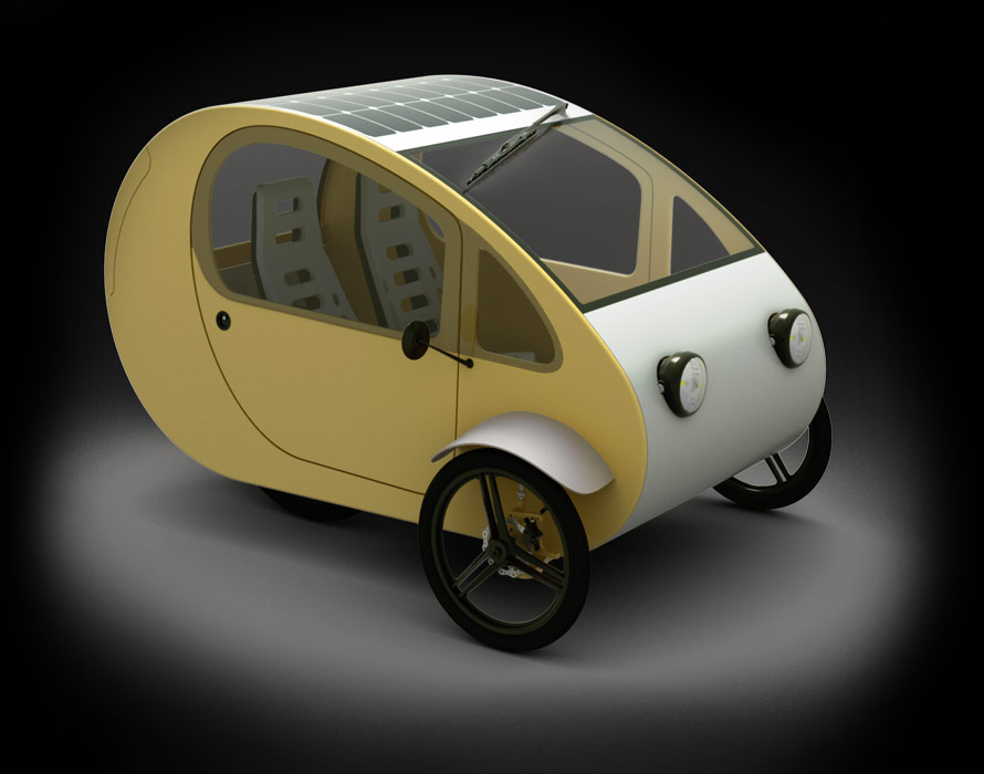 Evovelo, tricycle solaire