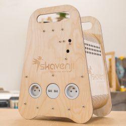 Skavenji, Box d'autoproduction d'électricité opensource