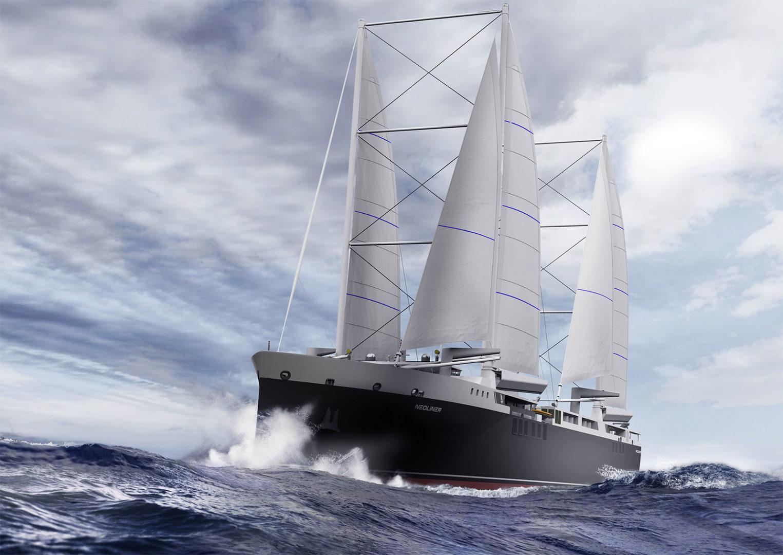 Neoliner : un projet de paquebot à voiles de 136m