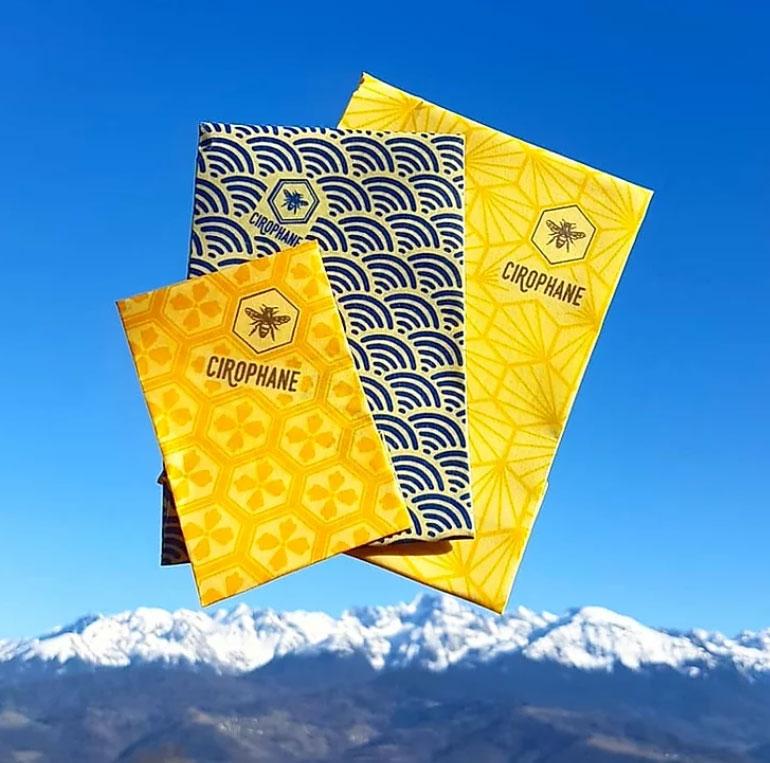 Cirophane, l'emballage alimentaire en cire d'abeille