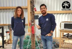 Trebeurden (22) : ils valorisent les déchets plastiques ramassés sur les plages