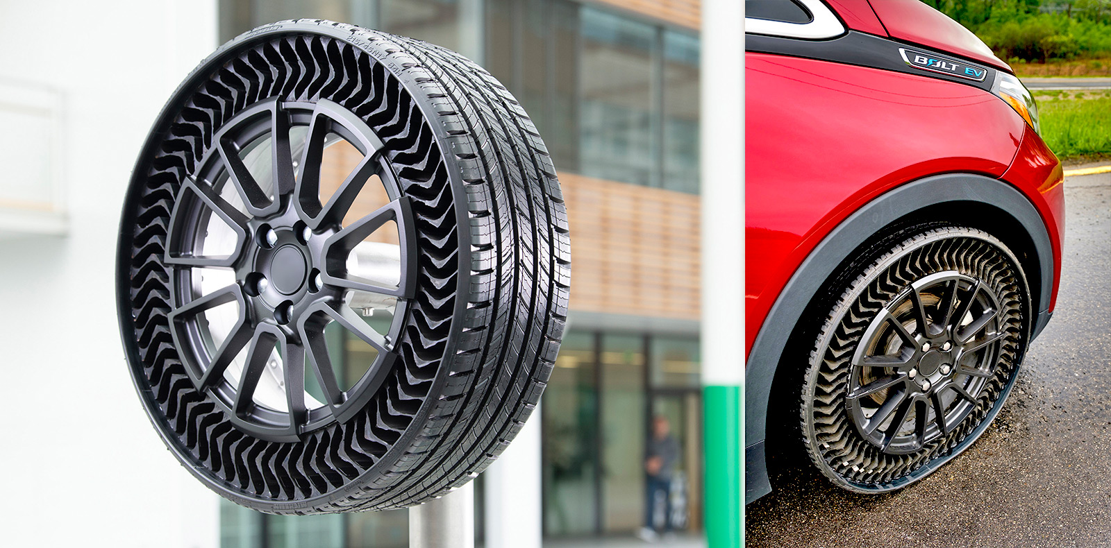 Vous ne pourrez plus crever : Michelin sort le pneu increvable